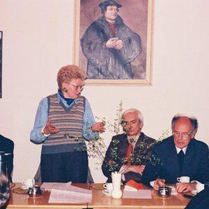 1993 r. Spotkanie PTEw z prof. Ewą Łętowską