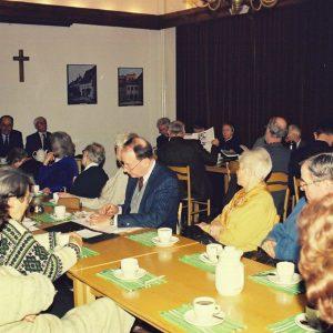 1999. Spotkanie PTEw z bp.Janem Szarkiem