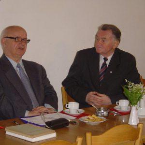 2005.05.16. prof. Janusz Tazbir i ks. Jan Hause