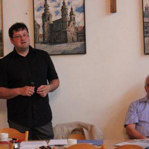 2012.05.21 PTE, Prelekcja historyka i działacza społecznego z Zaolzia dr. Józefa Szymeczka
